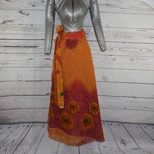 Dresses & Skirts - Reversable Boho Hippie Style One Size Wrap Skirt